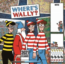 Image for Where's Wally Household Square Wall Planner Calendar 2021