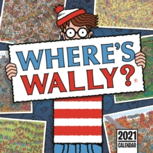 Image for Where's Wally Square Wall Calendar 2021