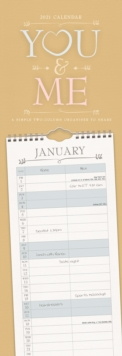 Image for You and Me Slim Planner Calendar 2021