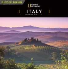 Image for Italy National Geographic Square Wall Calendar 2021