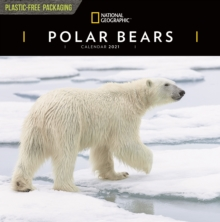 Image for Polar Bears National Geographic Square Wall Calendar 2021