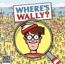 Image for Where's Wally Square Wall Calendar 2022