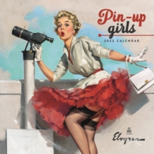 Image for Pin Up Girls Mini Square Wall Calendar 2022