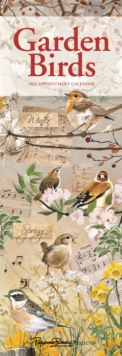 Image for Garden Birds by Pollyanna Pickering Slim Calendar 2022