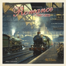Image for Romance of Steam Square Wall Calendar 2022