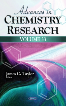 Image for Advances in Chemistry Research : Volume 33
