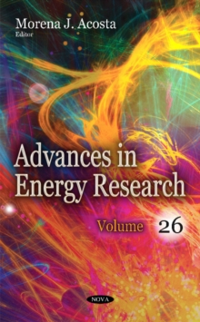 Image for Advances in Energy Research : Volume 26