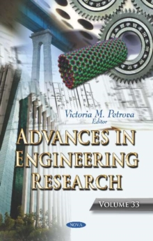 Image for Advances in Engineering Research. Volume 33 : Volume 33