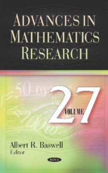 Image for Advances in Mathematics Research. Volume 27 : Volume 27