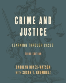 Image for Crime and justice  : learning through cases