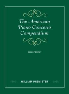 Image for The American Piano Concerto Compendium