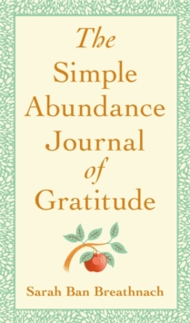 Image for The Simple Abundance Journal of Gratitude