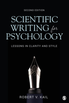 Image for Scientific writing for psychology  : lessons in clarity and style