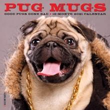 Image for Pug Mugs 2021 Mini Wall Calendar (Dog Breed Calendar)