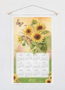 Image for Nature's Palette 2022 Calendar Towel