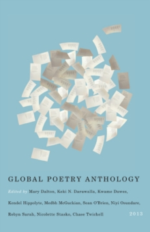 Image for Global Poetry Anthology : 2013