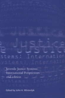 Image for Juvenile justice systems  : international perspectives