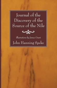 Image for Journal of the Discovery of the Source of the Nile