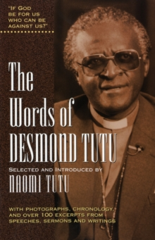 Image for The words of Desmond Tutu