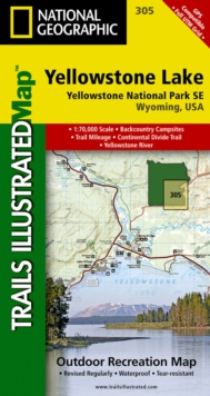 Image for Yellowstone Se/yellowstone Lake : Trails Illustrated National Parks
