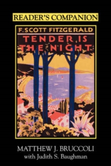 "Image for Reader's Companion to F.Scott Fitzgerald's """"Tender is the Night"