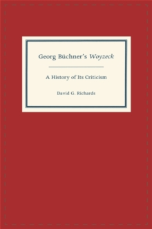 Image for Georg Buchner's Woyzeck  : a history of its criticism
