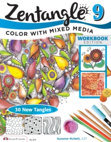 Image for Zentangle9,: Color with mixed media