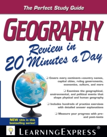 Image for Geography review in 20 minutes a day.: Landscapes of Reflection