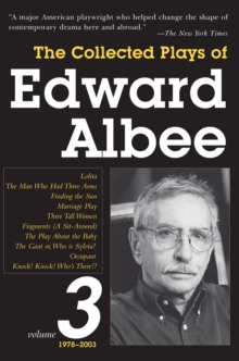 Image for The Collected Plays of Edward Albee, Volume 3