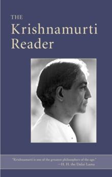 Image for The Krishnamurti reader