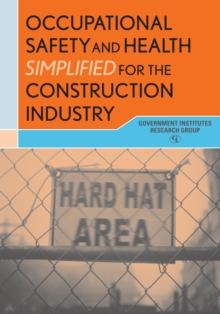 Image for Occupational safety and health simplified for the construction industry