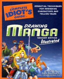 Image for DRAWING MANGA -COMPLETE IDIOTS GUIDE