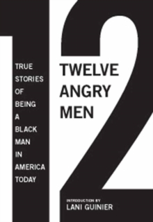 Image for Twelve angry men  : true stories of being a black man in America today