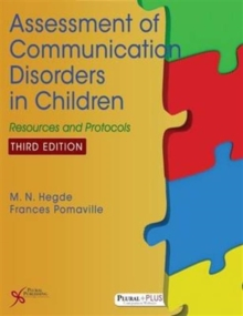 Image for Assessment of Communication Disorders in Children : Resources and Protocols
