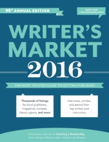 Image for Writer's market 2016  : the most trusted guide to getting published