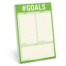 Image for Knock Knock #Goals Pad