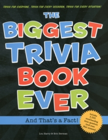Image for Biggest trivia book ever  : and that's a fact!