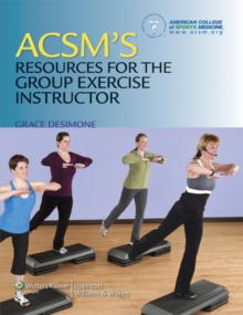 Image for ACSM's resources for the group exercise instructor