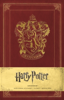 Image for Harry Potter Gryffindor Hardcover Ruled Journal
