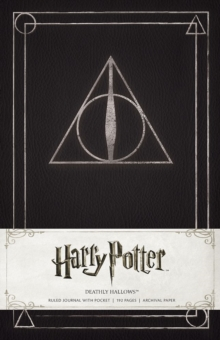 Image for Harry Potter Deathly Hallows Hardcover Ruled Journal