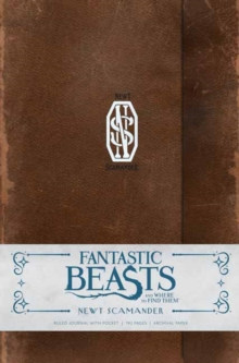Image for Fantastic Beasts and Where to Find Them: Newt Scamander Hardcover Ruled Journal