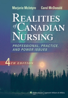 Image for Realities of Canadian nursing  : professional, practice, and power issues
