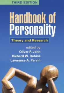 Image for Handbook of personality  : theory and research