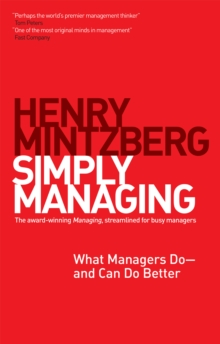 Image for Simply managing: what managers do - and can do better