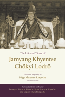Image for The life and times of Jamyang Khyentse Chèokyi Lodrèo  : the great biography by Dilgo Khyentse Rinpoche and other stories
