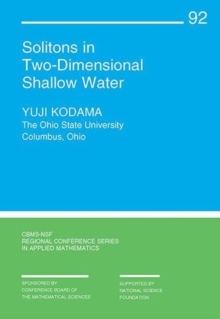 Image for Solitons in Two-Dimensional Shallow Water