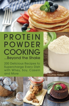 Image for Protein powder cooking...beyond the shake  : 200 delicious recipes to supercharge every dish with whey, soy, casein and more
