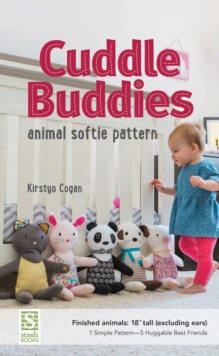 """Image for Cuddle Buddies : Animal Softie Pattern - Finished Animals: 18"""" Tall"""