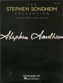 Image for The Stephen Sondheim collection  : 52 songs from 17 shows and films