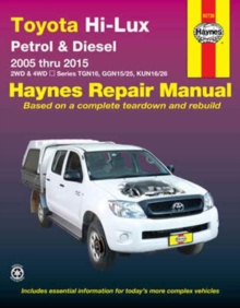 Image for Toyota Hilux 4x4 automotive repair manual  : 2005-2015